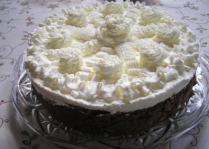 ozdobený dort