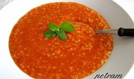 Rajská polévka s jáhlami