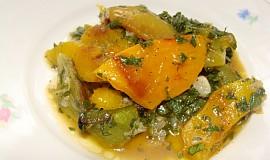 Salát z grilované papriky
