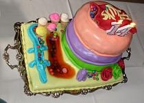 Skittles Birthday torta