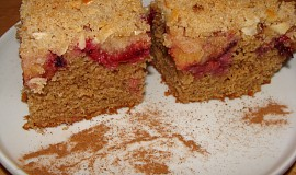 Švestkový koláč ze špaldové mouky