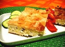 Tykvový koláč s rýží a tvarohem - slaný aj sladký