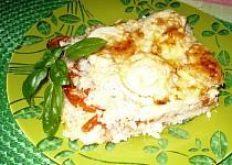 Zapečená rýže s rajčaty
