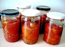 Zavařená a v troubě pečená rajčata