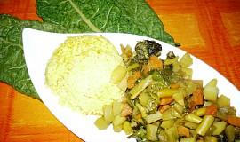 Zeleninové sabdží s mangoldem