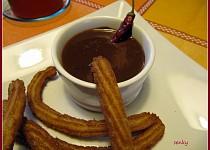 Churros s chilli čokoládou podle Dity P.