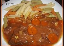 Hovězí maso s nevšední chutí
