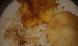 Indická kuchyně - Aloo Gobi Dalna (brambory a květák) videorecept