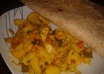 Indická kuchyně - Gobbi ki Sabzi (autentické květákové sabdží) videorecept