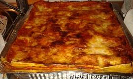 Italské domácí lasagne