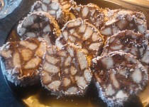 Kakaovo-piškotové plátky