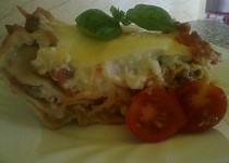Lasagne po španělsku