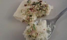 Marocká kuchyně - Pěnové řezy (falešný cheese cake)