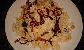 Pákistánská kuchyně - Chana pulao (rýže s cizrnou) videorecept