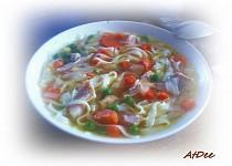 Polévka na thajský způsob