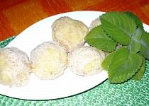 Rychlé ovocné knedlíky Hanýsek