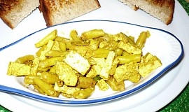 Tofu s fazolkami