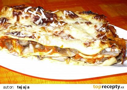 Václavkové lasagne