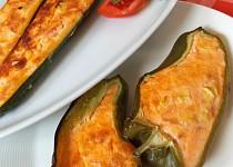 Zelenina plněná mozzarellou a sušenými rajčaty
