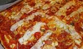 Blesková pizza z jogurtu (  kefíru )