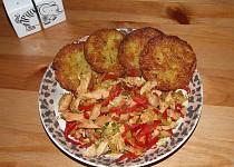 Bramboráčky se směsí masa a zeleniny