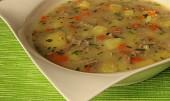 Bramborová kuřecí polévka