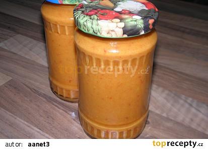 Cuketovo - papriková hořčice