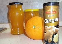 Dýňová marmeláda s citrusy