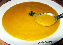 Dýňová polévka bez mléka (pro alergiky)