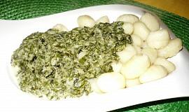 Gnocchi se špenátem