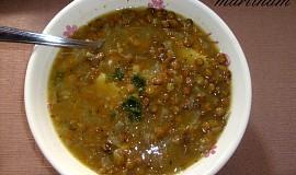 Hustá čočková polévka - bezlepková
