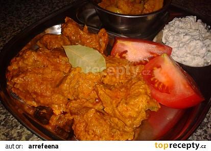 Indická kuchyně - jehněčí Rogan Josh (jehněčí curry na másle a jogurtu) český videorecept