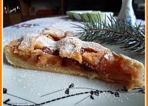 Jablečný koláč s cukrovo-skořicovou polevou