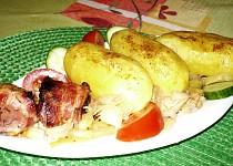 Jehněčí žlázy a brambory s tajemstvím