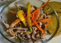 Lahodný salát z červeného zelí