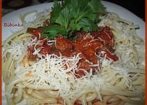 Silnější řapíkaté a česnekové špagety