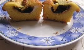 Muffiny s povidly a tvarohem