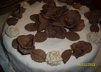 Potahová hmota z Marschmallow bonbonů