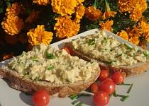 Škvarkovo-bramborová pomazánka