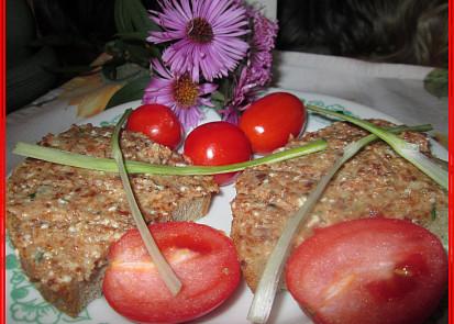 Škvarkovo-nivová pomazánka