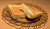 Svěží pudinkový koláč
