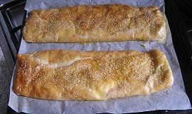 Sýrový závin z listového těsta II