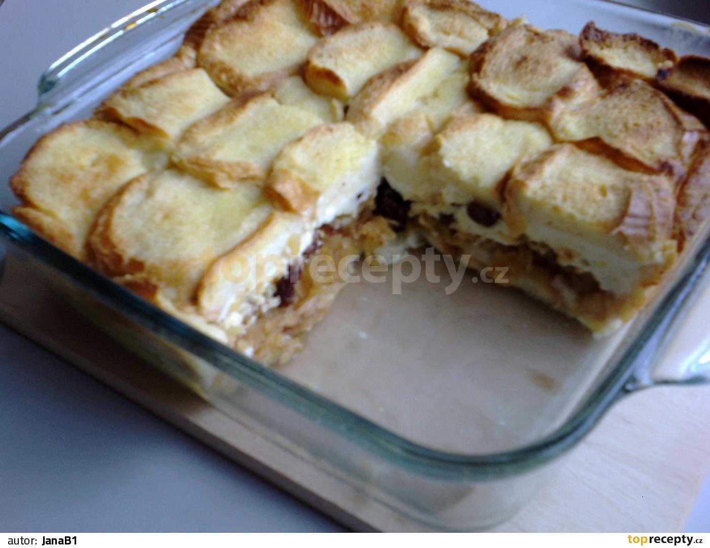 Žemlovka s jablky a tvarohem recept - TopRecepty.cz b9ff1e3bf0