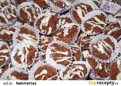 Cornflakes hrudky s čokoládou