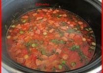 Dračí mlsná buřtová polévka