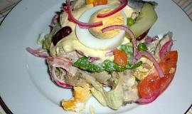 Ghanský salát s domácí majonézou