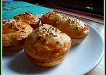 Houbové muffiny z listového těsta