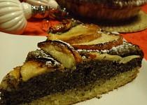 Jablečný koláč s mákem