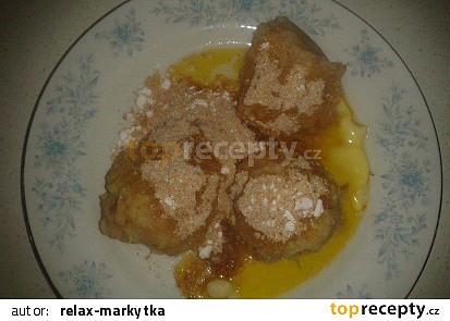 Jablkové knedlíky - od Markýtky