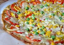 Květákovo - celerová pizza bez mouky